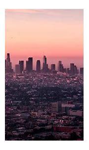 Los Angeles skyline wallpaper - backiee