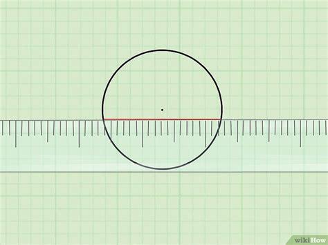 den durchmesser eines kreises berechnen wikihow