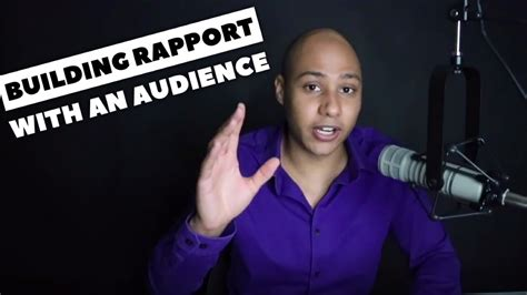 The Trick To Building Rapport With Your Audience  The Best Speakers In The World Do This