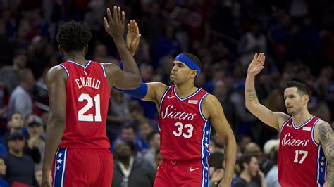 sixers roster lineup  lakers  tobias harris