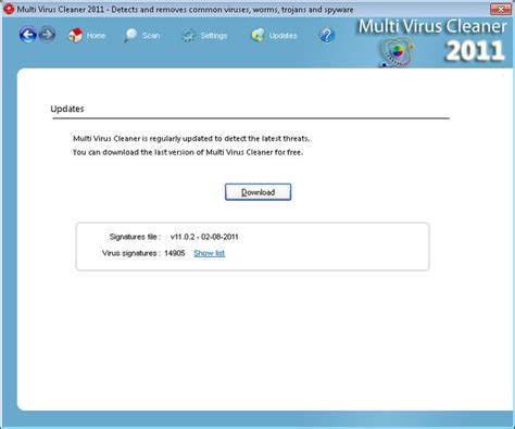 Multi Virus Cleaner 2011  Free Download