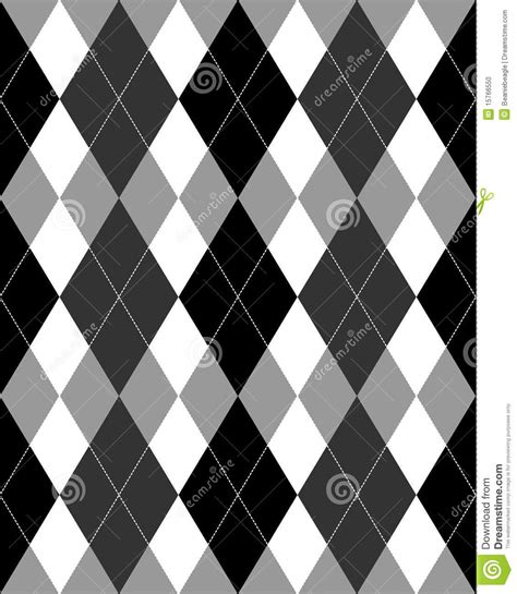 argyle pattern grayscale eps stock photo image