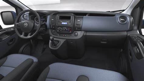 opel vivaro combi lg  dimensions boot space  interior