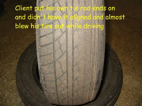 Worn Tires A Sign Of A Suspension Problem Auto Repair