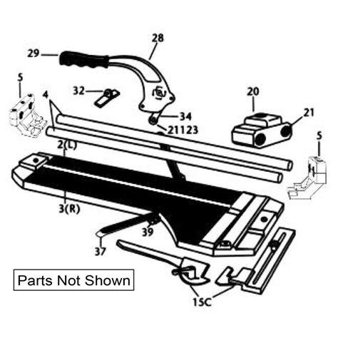 Qep Tile Cutter Spares by 10600 Qep Tile Cutter Repair Parts Qepparts