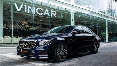 Gallery of 21 high resolution images and press release information. Mercedes-AMG E53 Sedan - VINCAR - YouTube
