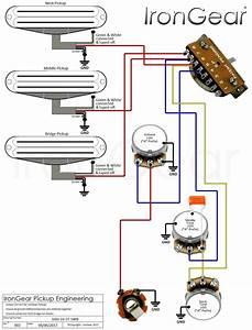 New Guitar Wiring Diagram Single Pickup