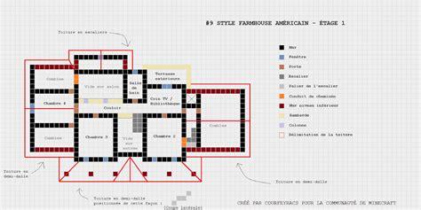 Plan Maison Minecraft De Luxe