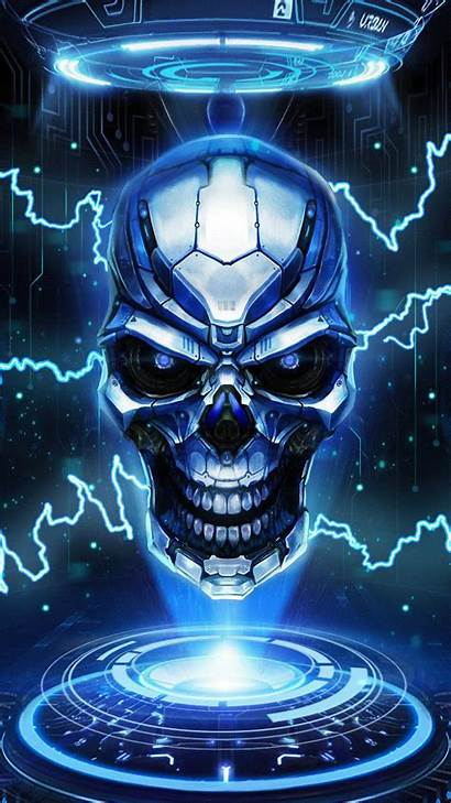 Skull Evil Fire Wallpapers Backgrounds Wallpaperaccess