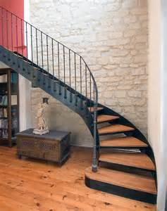 Escalier Quart Tournant Gauche Metal by 25 Best Ideas About Escalier Quart Tournant On Pinterest