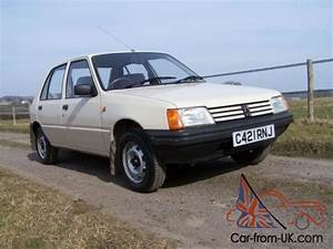 1986  C  Peugeot 205 1 1 Gl Absolutely Stunning Car One Owner Genuine 46000 Mls