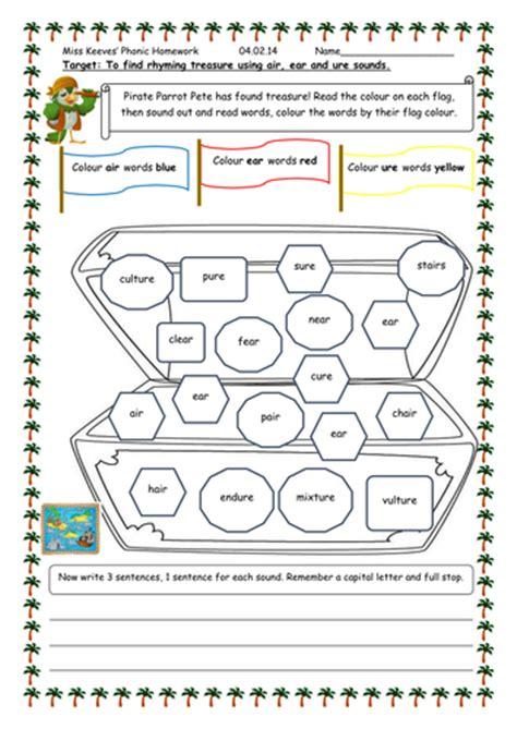 air ear ure worksheet by pandapop25 teaching resources
