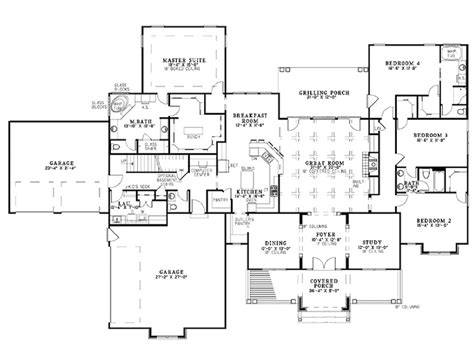 bedroom plans designs 100 4 bedroom open concept floor plans best 25 shotgun