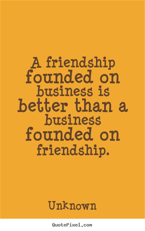friendship founded  business