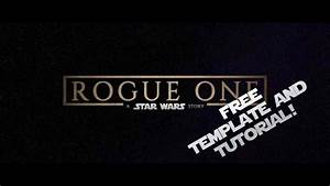 how to make rogue one titles in fcpx With fcpx trailer templates