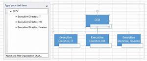 Excel Create Organization Chart Access Excel Tips