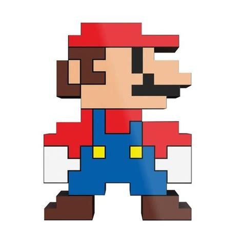 Mario 8 Bit 3d Cgtrader