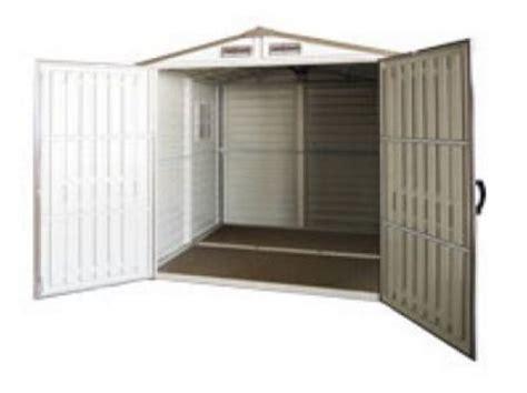 6x6 Vinyl Storage Sheds by Duramax 30411 Storemate Vinyl Storage Shed 6x6 75 9 X 74