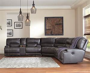 Mccaskill collection u60900 100 genuine leather sectional for Ashley large sectional sofa