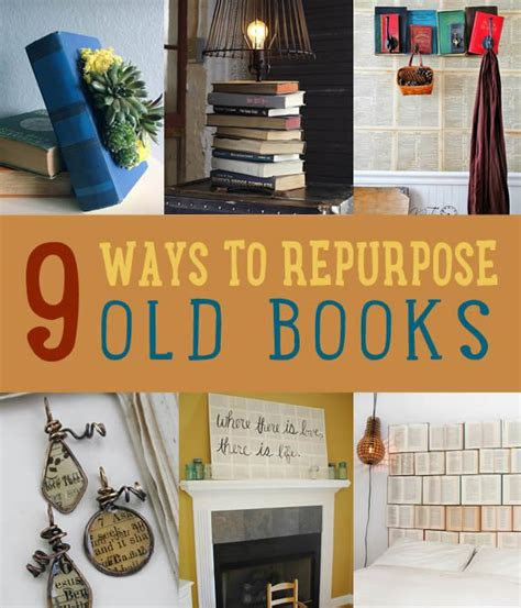 Diy Home Decor Books by Upcycling Books Diy Projects Craft Ideas How To S