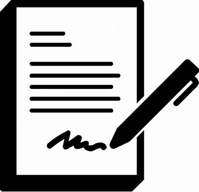 Paperwork Documents Forms Complete Icon Pen Start