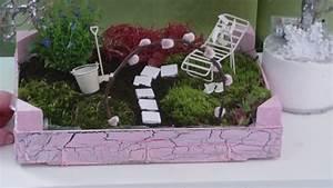 Mini Obstbäume Für Den Garten : diy garten f r den tisch in einer kleinen obstkiste fairy garden youtube ~ Heinz-duthel.com Haus und Dekorationen
