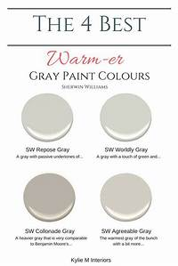 warm grey paint color Farmhouse Interior Design Ideas - Home Bunch Interior ...