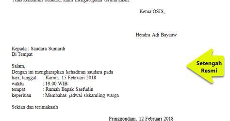 Berikut 99.co indonesia hadirkan struktur dan contohnya agar bisa kamu jadikan referensi! Contoh Surat Undangan Setengah Resmi Tentang Pentas Seni - Modif L