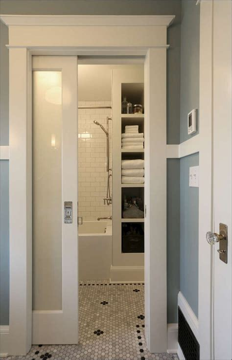 Bathroom Door Designs by Pocket Doors For Small Bathrooms There Are Different