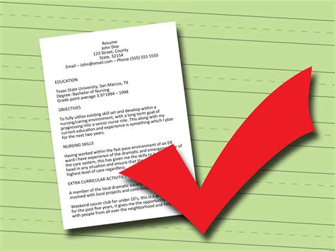 Write Sle Resume by How To Write A Resume 7 Steps With Pictures