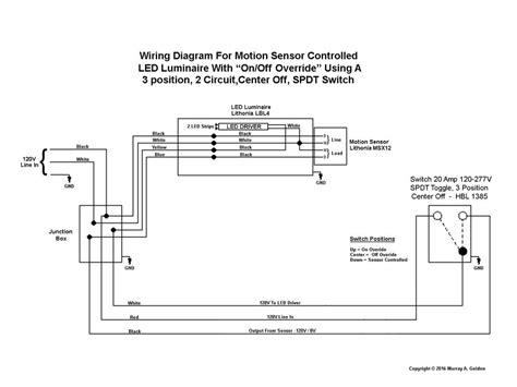 Up Bypas Switch Wiring Diagram by What Of Switch To Operate And Bypass Motion Sensor