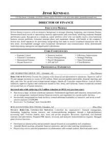 resume tips finance professionals finance resume exles exle of finance resume