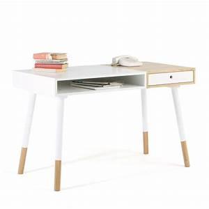 Bureau But Blanc : bureau design blanc sonnenblick par ~ Teatrodelosmanantiales.com Idées de Décoration