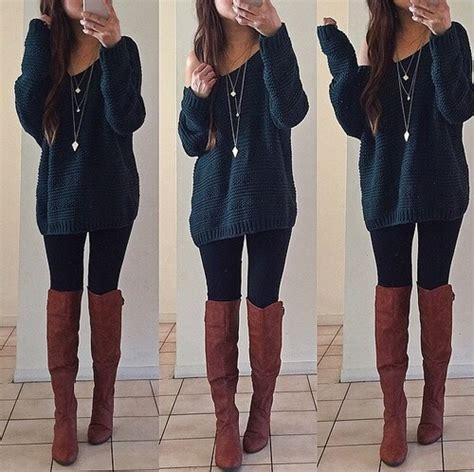 Winter-outfit-ideas-with-boots   Tumblr