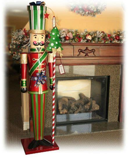 life size   tall christmas holiday metal toy