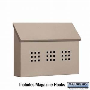 Salsbury Industries | 4615BGE Traditional Mailbox ...