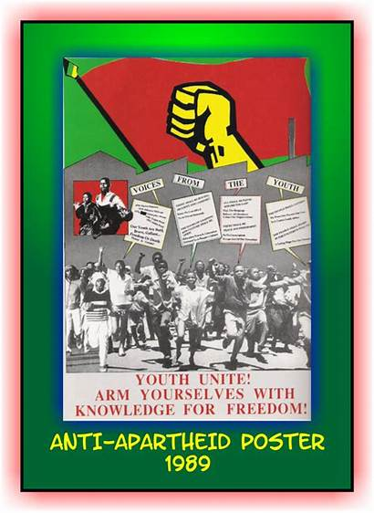 Apartheid Nelson Mandela Anti Poster Goodbye Changed