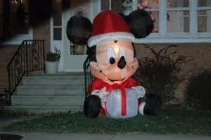 mickey mouse christmas lawn decorations