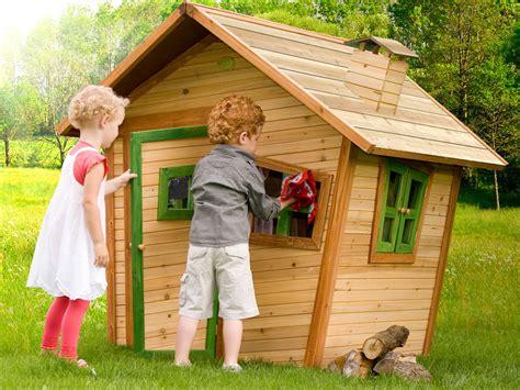 Spielhäuser Aus Holz, Holzhäuser Und Stelzenhäuser Für Den