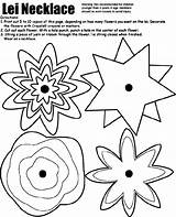 Lei Necklace Crayola Coloring Pages Hawaiian Printable Drawing Flowers Luau Flower Sheets Adult Tropical Finished Adults Summer Cut Getdrawings Lay sketch template
