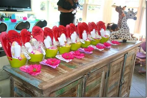 ideas  spa birthday parties  pinterest