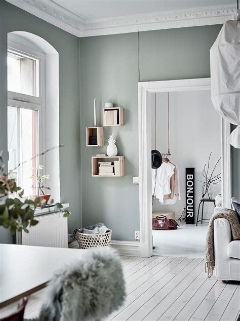 Bescheiden Bilder Wandfarben Ideen Wandfarbe Gr 252 N Grau Esszimmer Einrichtung Raumteiler