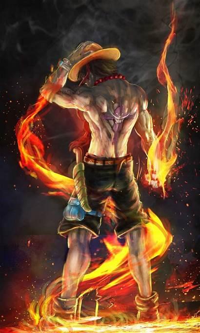 Ace Fist Fire 4k Iphone Artwork Piece