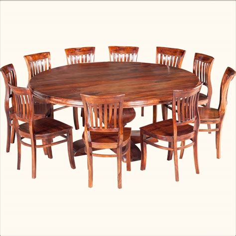 10 person round dining table exceptional solid wood dining sets 8 10 person round