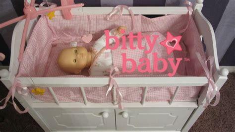 cute badger basket doll crib  kids room