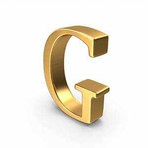 gold capital letter g png images psds for download With gold letter g