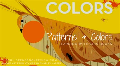 children s books about colors learning patterns and colors with color books the