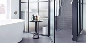 Salle De Bain Noire Et Blanche : 10 salles de bains qui ont fait le choix du noir et blanc ~ Melissatoandfro.com Idées de Décoration