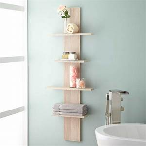 Wulan Hanging Bathroom Shelf - Four Shelves - Bathroom