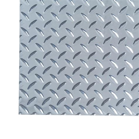 Md Building Products 3 Ft X 3 Ft Diamond Tread Aluminum